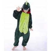 Кигуруми динозавр зеленый детский