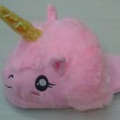 Тапочки для кигуруми Единорог розовый без задника